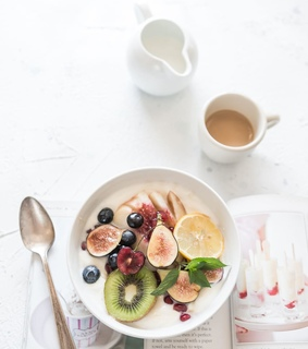 fruit, breakfast and healthy