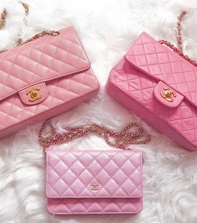 stuff, chanel and pink