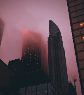 cityscape, foggy and photography
