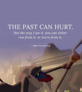 disney, rafiki and past can hurt