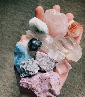 minerals, crystals and wiccan