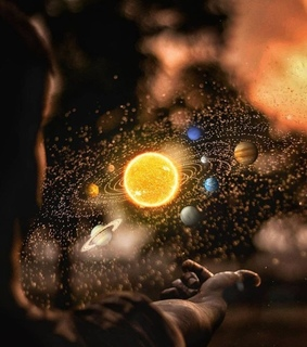 sparkles, wallpaper and planets