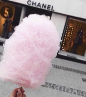 sweets, candyfloss and fashion