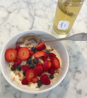 aesthatic, healthy and blueberries