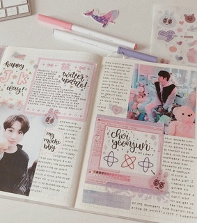 kpop journal, bts and txt