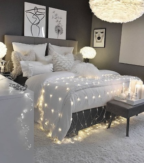 home, white and room