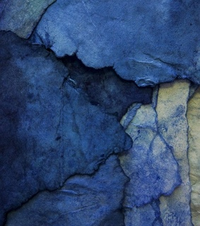 blue, texture and watercolor
