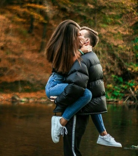 kisses, photography and couple goals