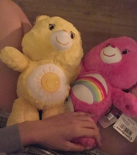 pink, yellow and dolls