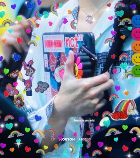 stickers, nct 127 and cute