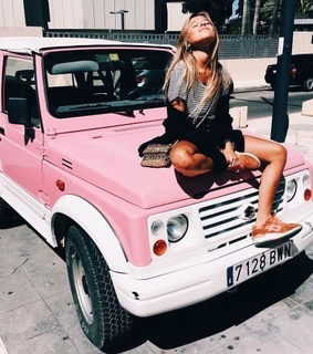 girl, car and quality