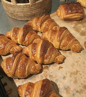 love, croissants and yes