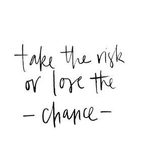 chance, quote and motivation