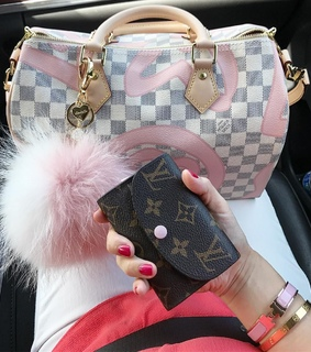 girl, LV and brand