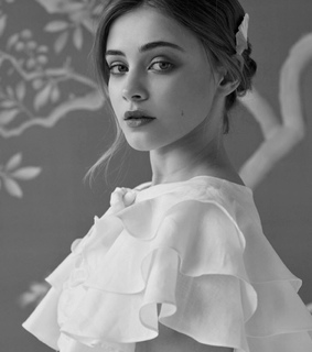 random, black and white and tessa young
