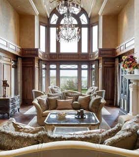 interior design, living room and home decor