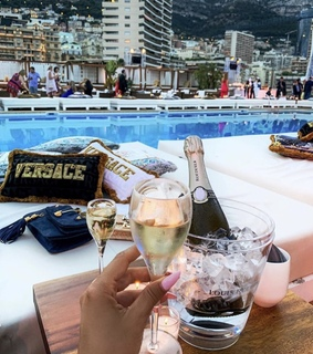 Versace, bags and summer