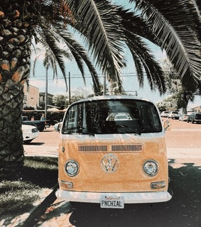kombi, summer and faded