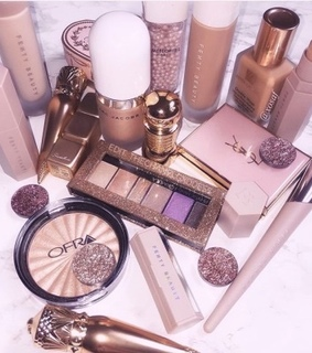 YSL, marc jacobs and rose gold