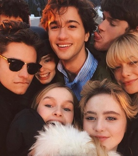the society, olivia dejonge and alex macnicoll