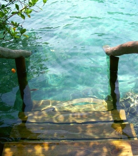 steps, underwater and step