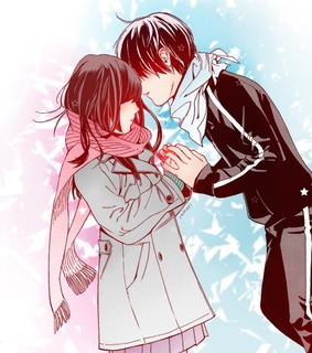 cute, noragami and love