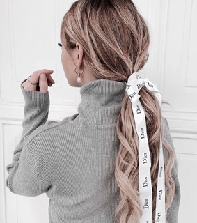 vogue, hairstyles and ribbon