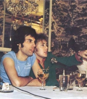 young, Queen and drummer