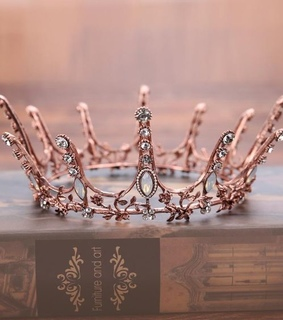 rose gold, aesthetic and crown