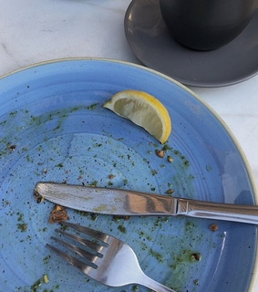 food, details and plate