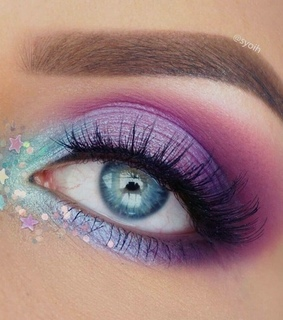 color, make up and eyes