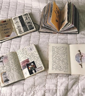 journals, artsy and note book
