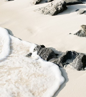 nature, summer and sand