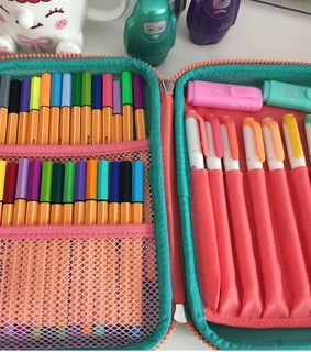 school supplies, stabilo boss and decor