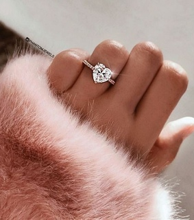 ring, nails and heart
