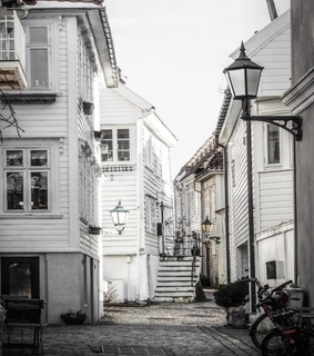 city, norway and life