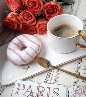 cup of coffee, coffee time and sweets