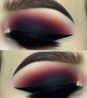 eyes, makeup and glam