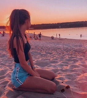 summer, travel and sunset