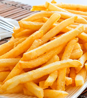 yes, fries and love