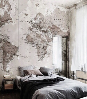 room, world and travel