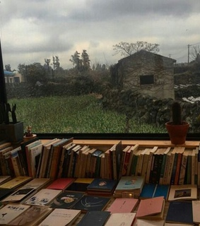country, books and cozy