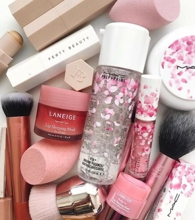 makeup, beauty and shimmer