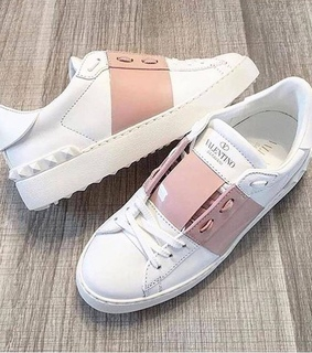pink, Valentino and shoes