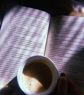 coffee, read and aesthetic