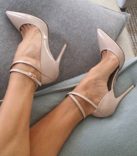 shoes, fashion and high heels