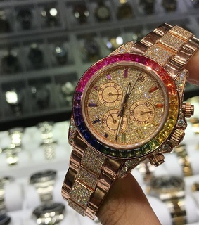 sparkles, rolex and lifestyle