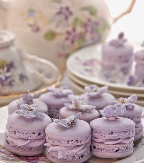 purple, food and wedding