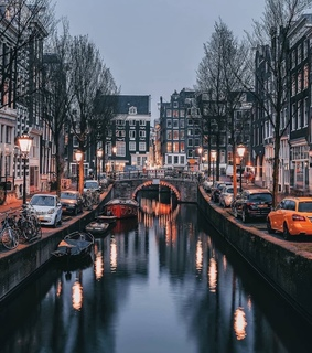 architecture, amsterdam and water