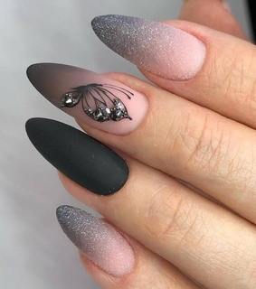 acrylic nails, girl and style
